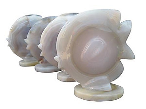 Agate Sunfish Carvings