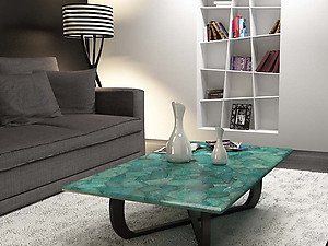 Amazonite Table Top (140 x 83 x 3 cm)