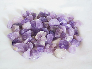 Amethyst Tumbled Stones Small (under 30mm) - 10LBS