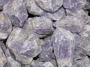 Amethyst Rough - Block 50 LBS Lot