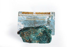 Blue Apatite Business Card Holder