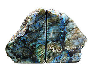 Labradorite Bookends (1-3KG) - AAA