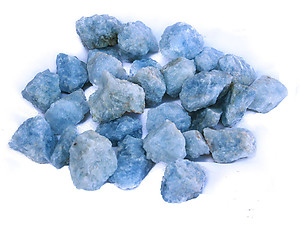 Blue Calcite Rough - Gem Decor Rough (5-30g) 5Kg Bag (11LBS and UP)