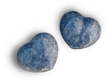 Blue Calcite Large Decorative Heart