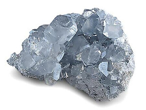 AAA Quality Celestite Druze 500-600 g pieces