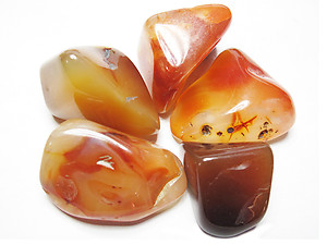 Carnelian Tumbled Stones - Extra Large (45-60mm) - 1LB