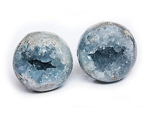 90 mm Celestite Spheres