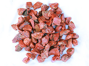Red Jasper Rough - Gem Decor Rough (5-30g) 5Kg Bag (11LBS and UP)