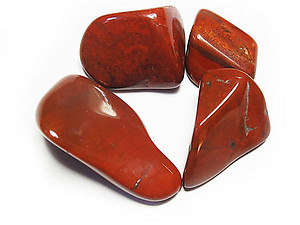 Red Jasper Tumbled Stones - Extra Large (45-60mm)