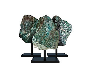Chrysocolla Rough on Base - Large