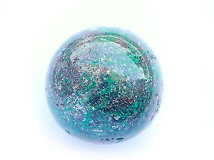 Chrysocolla Spheres (45mm)