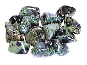 Crocodile Jasper Tumbled Stones - Extra Large (45-60mm) - 1LB