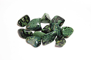 Crocodile Jasper Tumbled Stones Small (under 30mm) - 10LBS