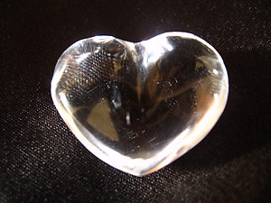 Quartz Jewelry Small Heart