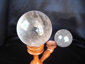Quartz Sphere - Large (70mm) - B Quality