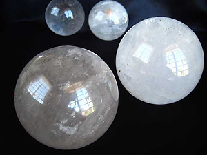 Quartz Sphere - Large (80mm) - B Quality