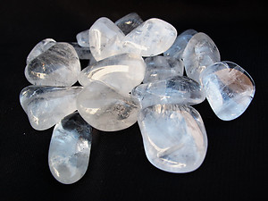 Crystal Quartz Tumbled Stones - Large (30-45mm) - AA - 1LB