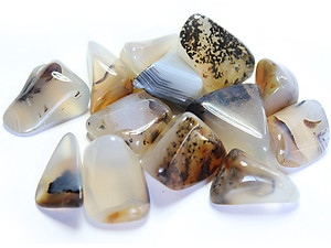 30-45 mm Dendritic Agate Tumbled Stones