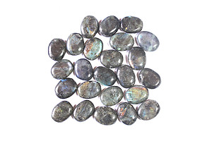 Electric Midnight Labradorite Oval Shapes