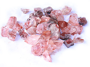 Fire Quartz Rough - Gem Decor Rough (5-30g) 5Kg Bag (11LBS and UP)