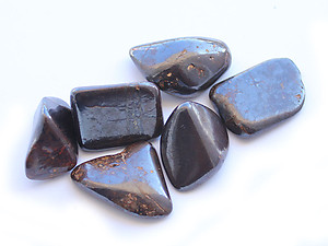 Hematite Tumbled Stones - Small (18-25mm) - 1LB