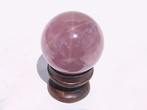 Lavender Rose Quartz Sphere (55 mm)