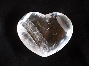 Optical Calcite Decorative Hearts