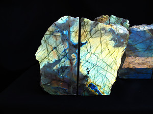 Labradorite Bookend (3-5KG) - AAA