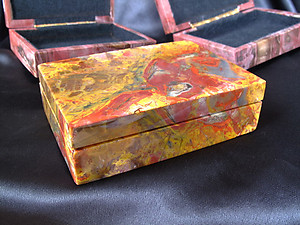 Petrified Wood Jewelry Boxes