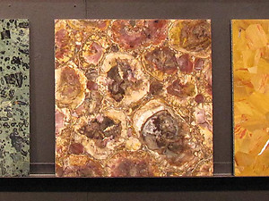 Petrified Wood Tile (40 x 40 cm)