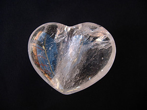 Quartz Crystal Decorative Heart