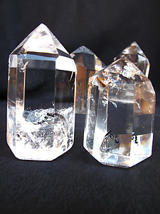 Crystal Quartz Prism (50-250g) - Polished - 80LB
