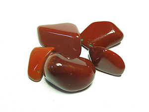 Red Jasper Tumbled Stones - Medium (20-30mm)