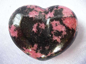 Rhodonite Large Decorative Heart