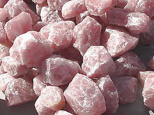 Rose Quartz Rough - 5lb Lot