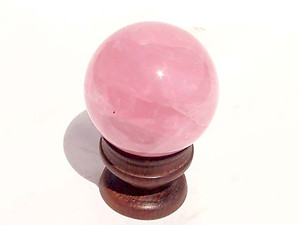 Star Rose Quartz Sphere 5 lb (40-60 mm)