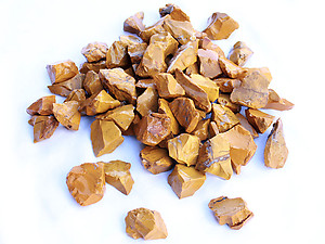 Yellow Jasper Rough - Gem Decor (5-30g) 5Kg Bag (11LBS and UP)