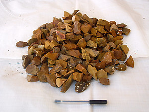 Yellow Jasper Tumbling Rough - Gem Decor (5-30g) 5KG (11LBS) Bag