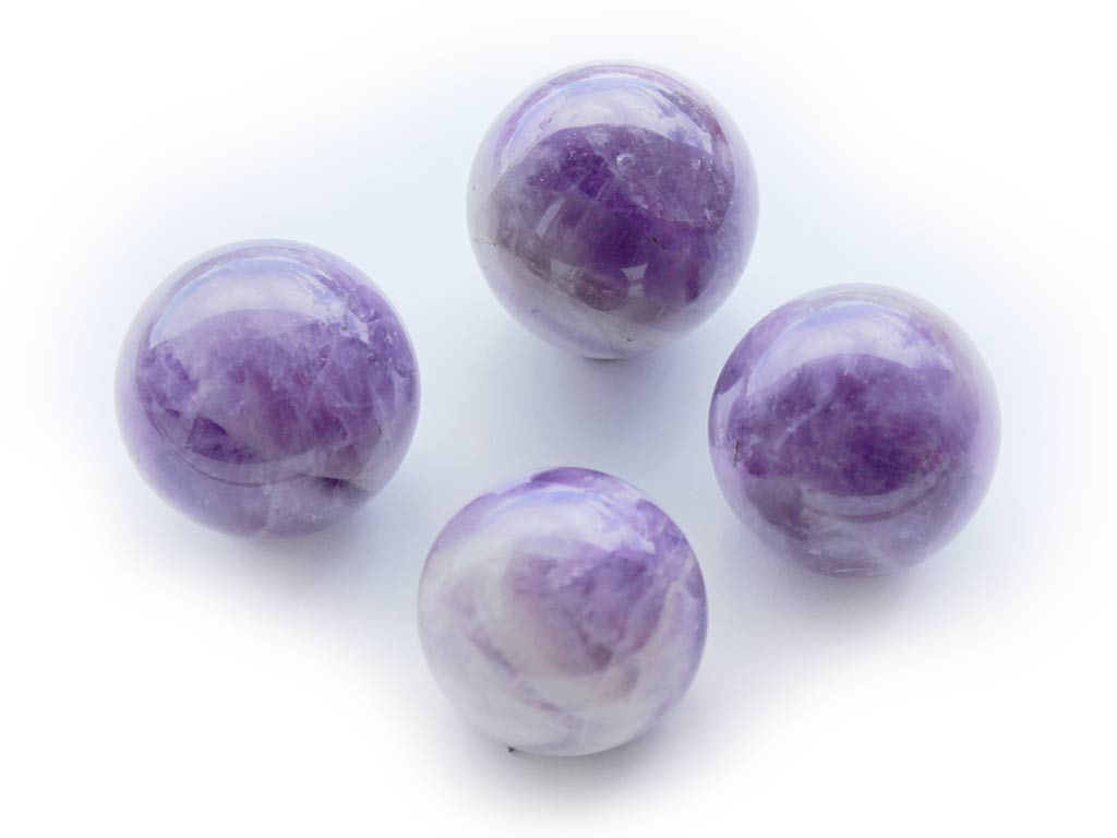 Amethyst Spheres (45mm)