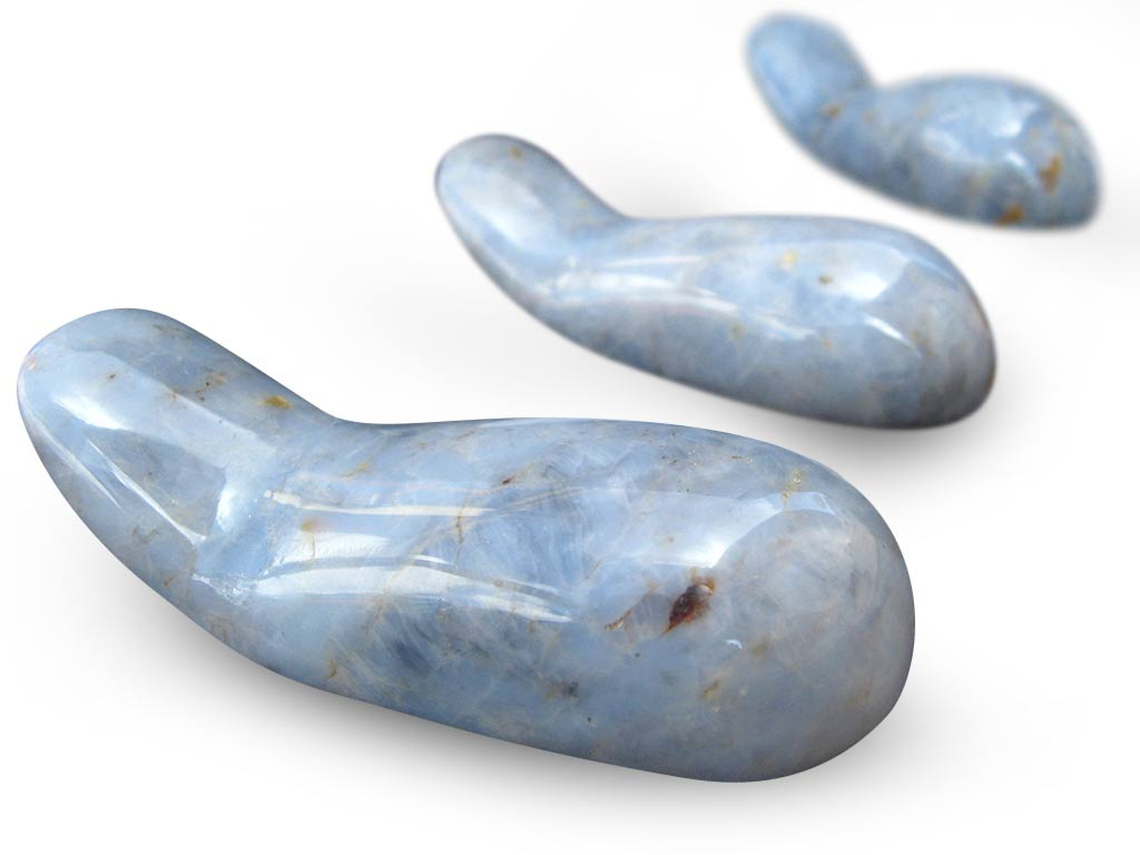 Blue Quartz Massage Tools - Handheld Design