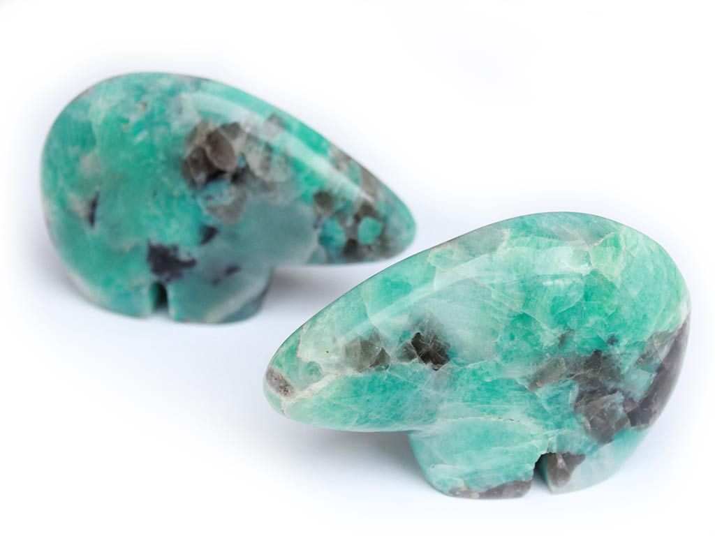 Amazonite Fetish Bears