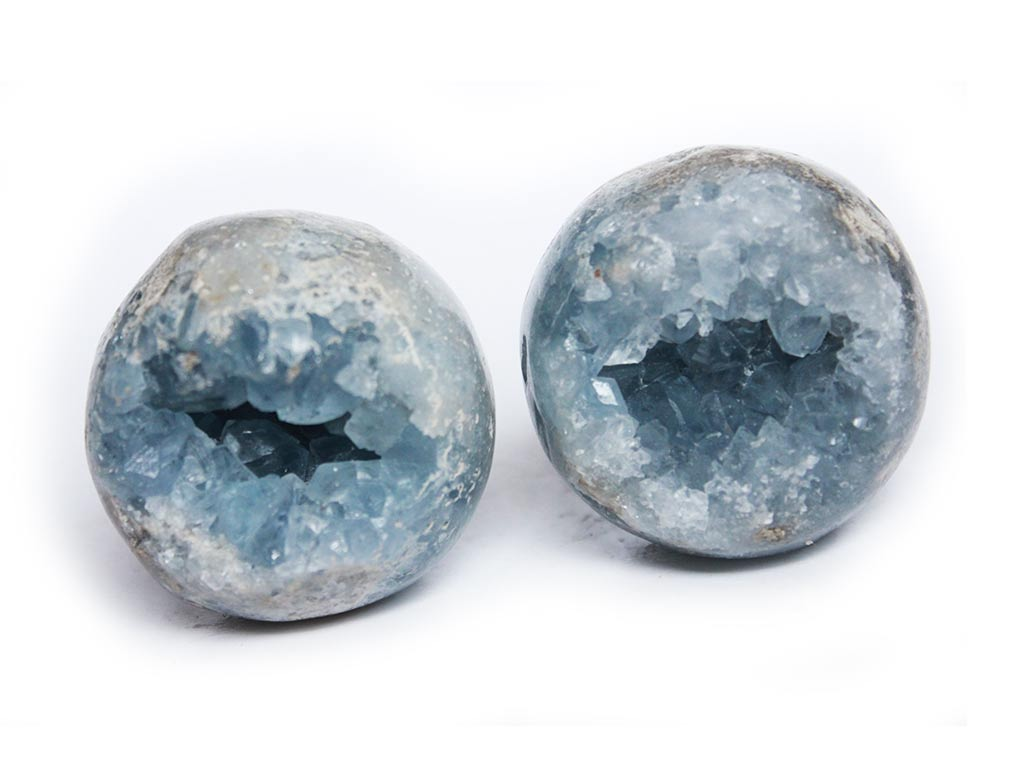 Celestite Spheres 55mm