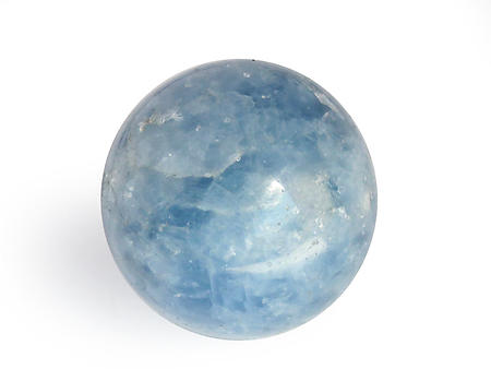 Blue Calcite Spheres (40mm)