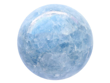 80 mm Blue Calcite Large Spheres