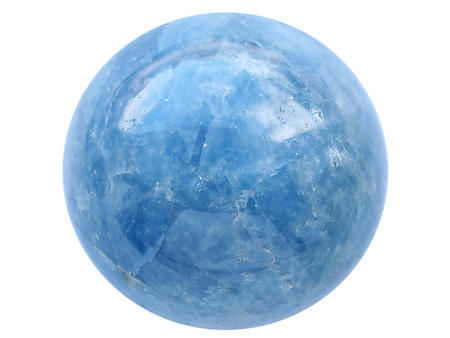 Blue Calcite Large Spheres (90mm)