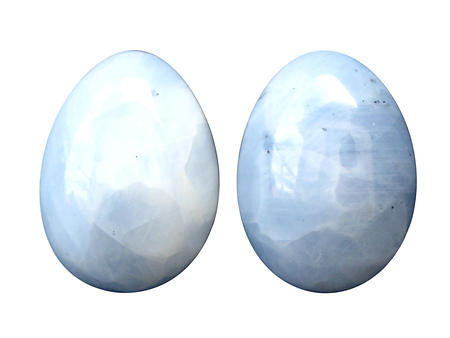 Blue Calcite Eggs - 60mm
