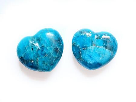 Apatite Jewelry Small Hearts