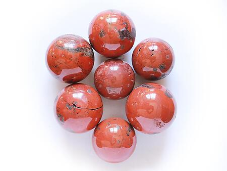 Wholesale - Red Jasper Spheres