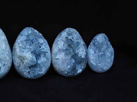Celestite Eggs (50mm) - AAA Quality