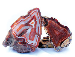 Banded Carnelian Agate Rough